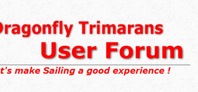 Dragonfly Trimarans user forum (national)